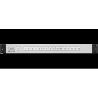 KR-1612C Активный пульт управления. 16 кнопок, выходные сигналы GPI (уровень или импульс), входные GPI для подсветки кнопок, блокировка всех кнопок, встроенный БП.